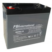 Acumulator 12V 55Ah VRLA, GEL 230x138x208mm FBinternational for ROMBAT DCG55-12