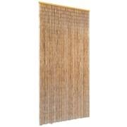 vidaXL Perdea de ușă pentru insecte, bambus, 90x220 cm