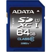 Card de memorie A-DATA SDXC Premier UHS-I U1 64GB (Clasa 10)