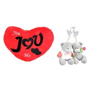 Tickles I Love You Heart Cushion Romantic Valentine Day gift42 cm