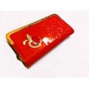 HandyPik Party Red Clutch