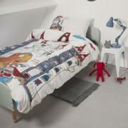 Lenjerie de pat baieti - Castelul Dragonului