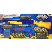 Set 2 Arme Jucarie Copii cu Bile Hidrofile si Gloante burete XH038