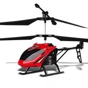 HBOY Juguetes para niños 2.5 Pasos 3.5 Pasos de Carga de aleación de Control Remoto Aviones Aviones no tripulados helicóptero Aviones-Red