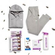 Female Loungewear Bundle - Joggers - XL - Hoodie - XS - Grijs