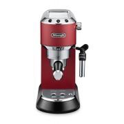 Espressor manual DeLonghi Dedica Style EC685.R, 1300W, 15 bar, Oprire automată, Sistem manual de spumare a laptelui, Roșu