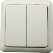 Nexa väggsändare 2-kanals, På/Av och dimmer, trappfunktion, självlärande