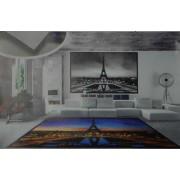 Tappeto Parigi cm 65x110 Stampa digitale torre Eiffel