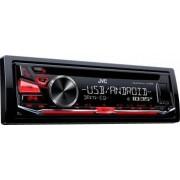 Radio CD auto JVC KD-R482 4x50W USB AUX Subwoofer control Rosu