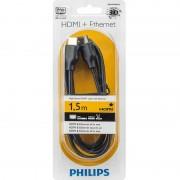 Cablu Philips SWV2432W/10 HDMI Male la HDMI Male Ethernet 1.5m negru