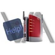 Configurazione della rete LAN/Wireless on line via chat, Skype,