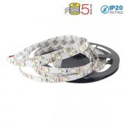 STRISCIA 300 LED BIANCO NATURALE 5 METRI NON IMPERMEAB VT-3528IP20300-LED2041