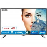 Televizor LED Smart Horizon X-TEND 43HL8530U, 109 cm, 4K UHD, DolbyVision HDR, 400Hz, Negru/Silver