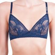 Calvin Dámská podprsenka Calvin Klein tmavě modrá (QF4542E-0PP) S
