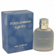 Light Blue Eau Intense For Men By Dolce & Gabbana Eau De Parfum Spray 3.3 Oz
