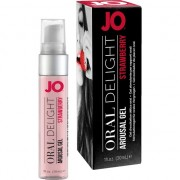 JO GEL EXCITADOR DE PLACER ORAL FRESA 30 ML