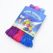 39.95 Magic Balloons, Vatten ballonger, självstängande, 3-pak lilla / pink / blå