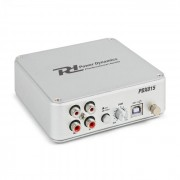 PDX015 Preamplificatore Phono Software USB 2.0 argento