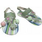 Sandale fete 365183AS verde 27 Primii Pasi