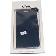 Калъф Viva за HTC ONE M7 Тъмно Син