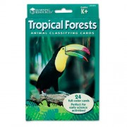 Learning Resources Animal Classifying Cards, Tropical Forests