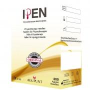 Agulha Agupunt EPI: As únicas agulhas especificas para trabalhar a técnica de Electrolisis Percutanea Intratisular EPI (200 unidades)