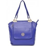 WestHide DESIGNER BLUE LEATHER HANDBAG Blue Shoulder Bag