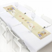 Zoo Crew - Petite Zoo Animals Baby Shower or Birthday Party Paper Table Runner - 12 x 60