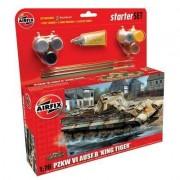 Maquette Char : Pzkw Vi Ausf.B King Tiger : Starter Set-Airfix