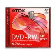 TDK DVD-RW 4x újraírható DVD