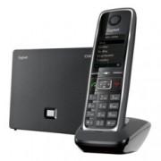 """Безжичен VoIP телефон Gigaset C530 IP, 1.8""""(4.57 cm) TFT цветен дисплей, черен"""
