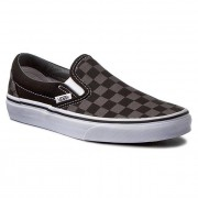 Vans Tenisówki VANS - Classic Slip-On VN000EYEBPJ Black/Pewter Checkerboard