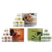 Adidev Herbals Fruit Extract Facial Kit Combo (Set Of 3)