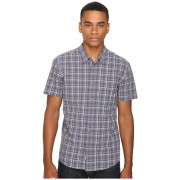 Quiksilver Everyday Check Short Sleeve Woven Night Shadow