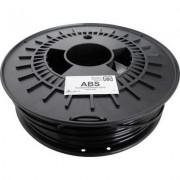 3D nyomtató szál German RepRap 100374 ABS műanyag 3 mm Fekete 750 g (1339431)