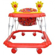 Ehomekart Red Venus Musical Walker for Kids