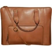 Kan Tan Genuine Leather Backpack/Messenger Bag For Men and Women 7 L Laptop Backpack(Tan)