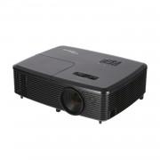 PROYECTOR PORTÁTIL DLP OPTOMA W340 - SOPORTE FULL 3D - 3400 ANSI LUMENES - 20000:1 - 1280X800 WXGA - HDMI - VGA - RS232 - ALTAVOCES 10W - LÁMPARA 195W