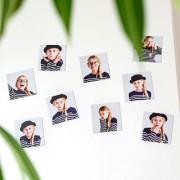 smartphoto Fotomagneter Kvadratisk (Set om 12)