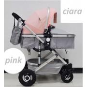 Cangaroo Kolica za bebe Ciara pink (CAN5192)
