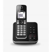 Panasonic KX-TGD320 DECT Identificatore di chiamata Nero, Argento