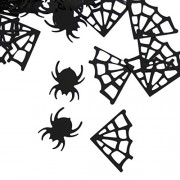 ELECTROPRIME® Cobweb Spider Table Sprinkles Scatters Halloween Party Home Bar Accessories