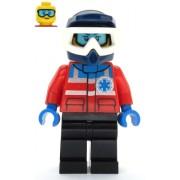 cty1079 Minifigurina LEGO City-Membru echipaj salvare fata cty1079