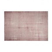 Miliboo Tapis rose acrylique et coton 155x230 USED
