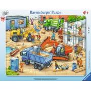 PUZZLE UTILAJE, 40 PIESE - RAVENSBURGER (RVSPC06120)