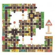 DJECO Puzzle układanka zasady ruchu drogowego, miasteczko ruchu drogowego ulice w mieście i znaki DJ07161