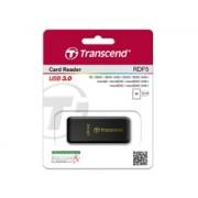 Transcend RDF5 USB 3.0 SDHC / SDXC / microSDHC/SDXC Memory Card Reader Black