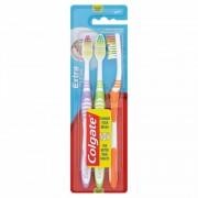 Colgate Extra Clean Medium Tandbørster 3 stk Toothbrush