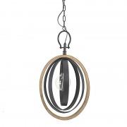 Lustra din lemn si metal Sphere