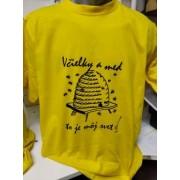 Tričko včelárske - včielky a med(Neuvedený)